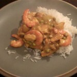 Healthy Chicken and King Prawn Curry