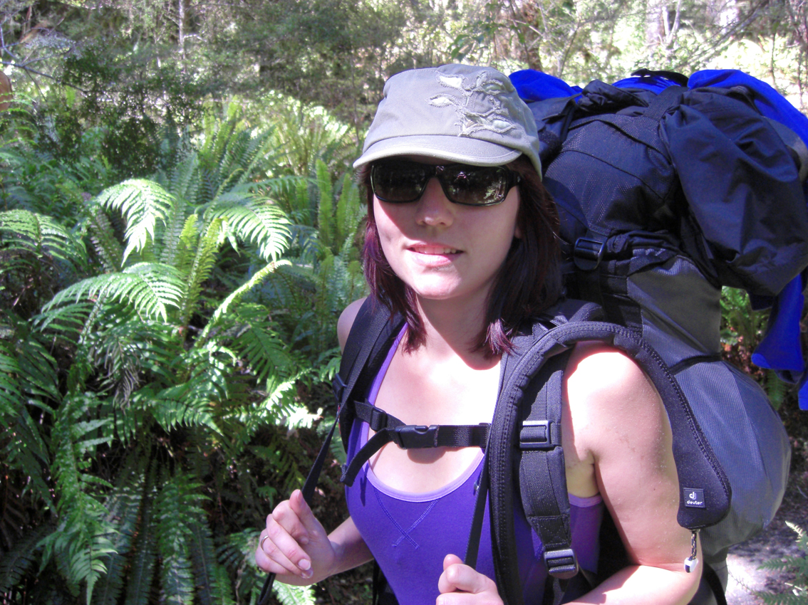 February 2012, New Zealand: Hiking the Kepler track in 4 days with a 10 kg backpack.