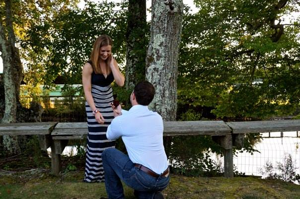 He proposed with perfect form!